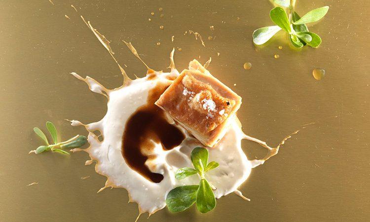 Chef Enrico Bartolini - Anca di pollo arrosto con salsa allo yuzu