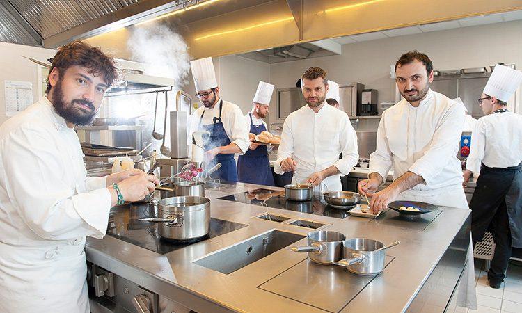Chef Enrico Bartolini e Staff al Mudec