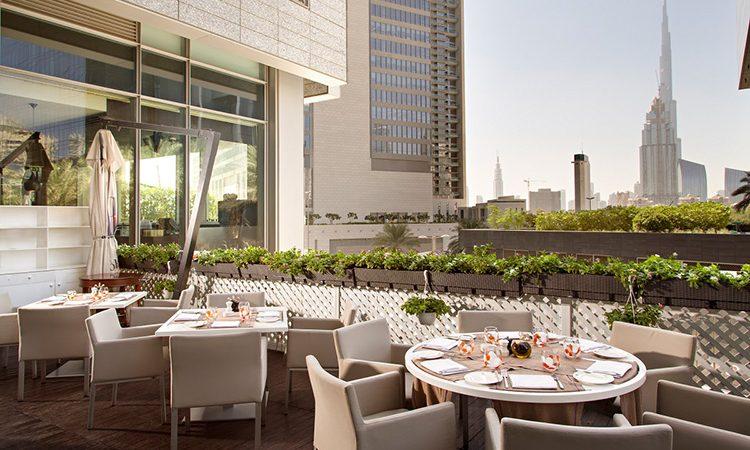 Chef Enrico Bartolini - Roberto's Lounge Dubai