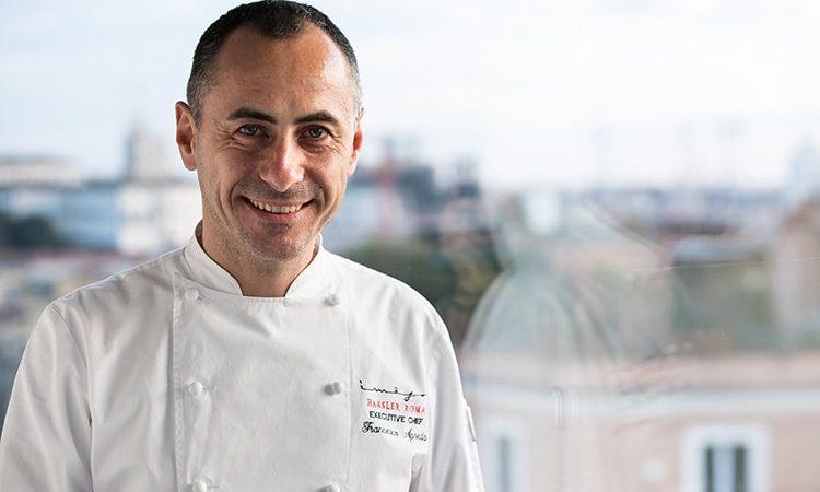 Chef Francesco Apreda - Imàgo Hassler - Roma