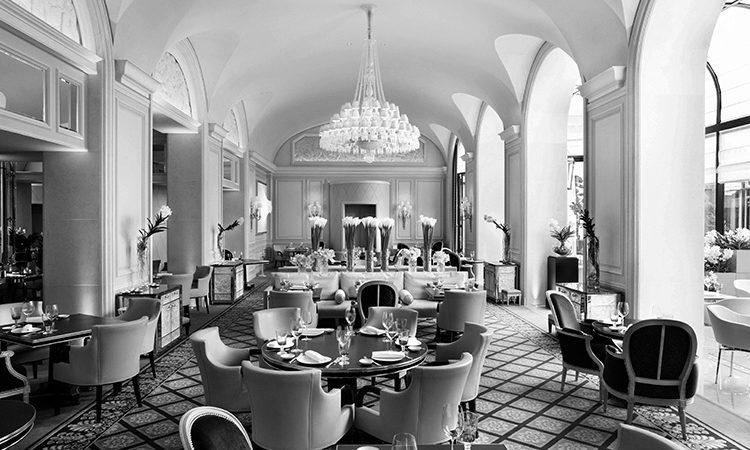 Sommelier Gabriele Del Carlo - Restaurant Le George - Parigi
