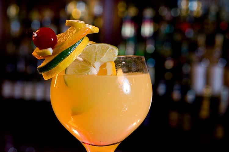 Flute Bar Lounge Midtown Manhattan - Champagne Sangria
