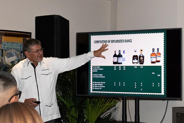 ShowRum - Verticale Rum Diplomàtico: il Mastro Ronero Nelson Hernandez