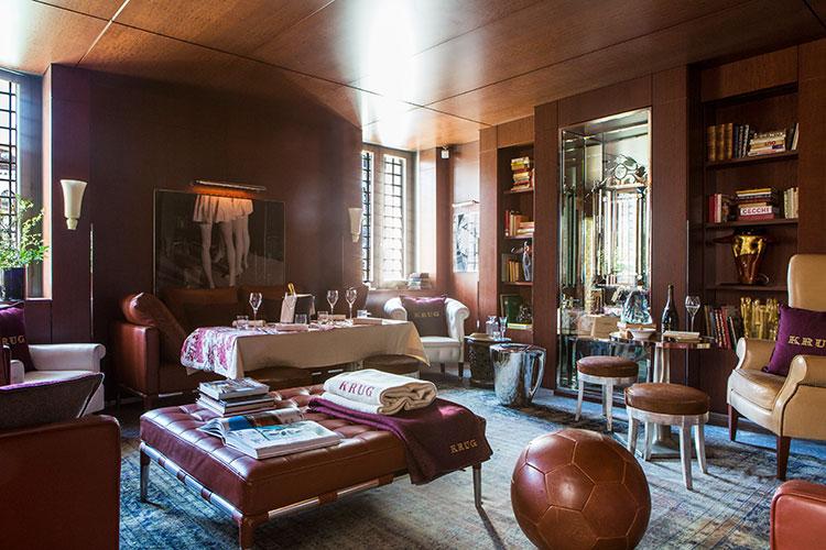 Palazzina Grassi - Venezia:The Krug loungeclub