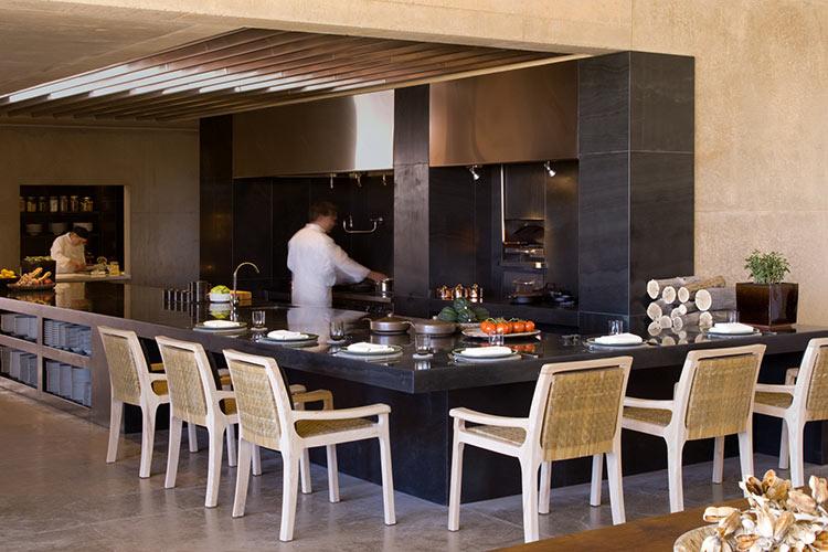 Amangiri Open Kitchen