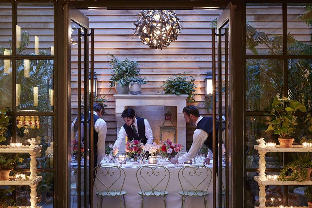 The Whitby Hotel - New York - Orangery Private Dinner