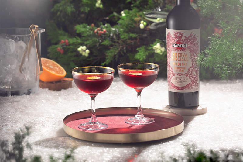 iBESTmag - Tre cocktail per Natale - drink SPICED BOULEVARDIER